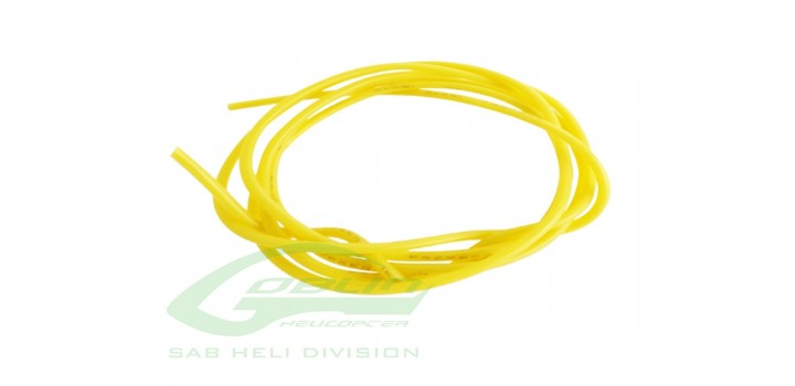 30AWG OD=1 YELLOW SILICONE
