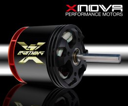 Xnova XTS 4535 520kv 4+5YY (1,5mm thick Wire) shaft A